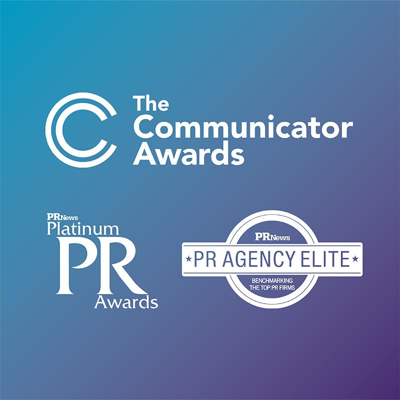 Communicator PR Platinum and PR Agency Elite Awards