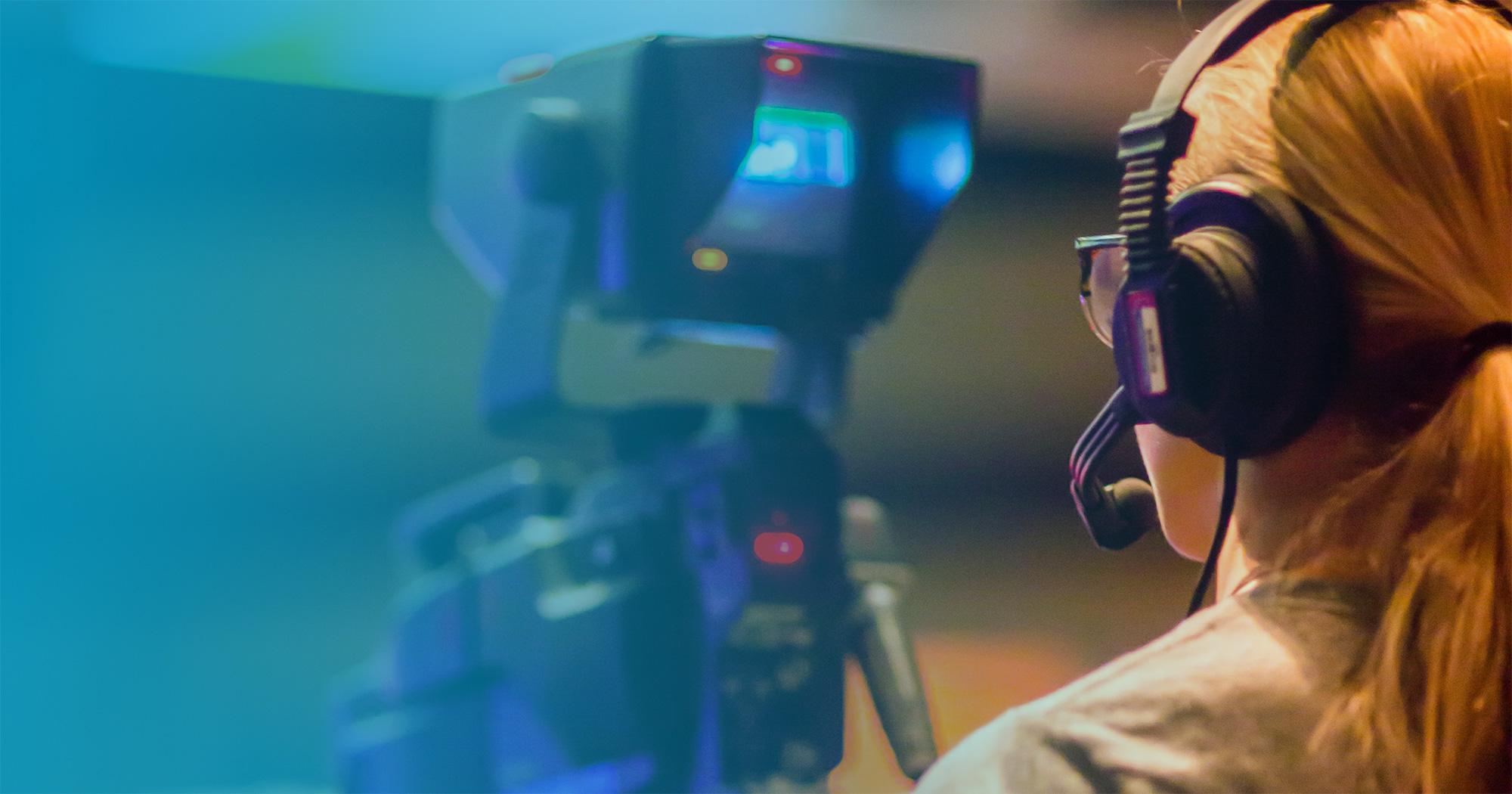 Broadcast camera recording media